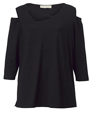 Shirt met cut-out