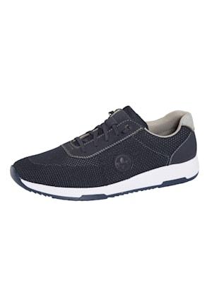 Sneakers avec laçage extensible sur le cou-de-pied