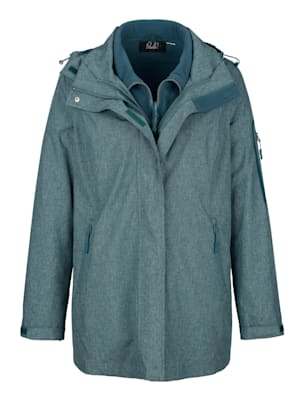 Veste fonctionnelle avec veste en polaire intégrée