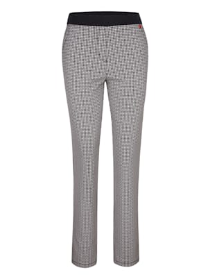 Pantalon à imprimé cravate
