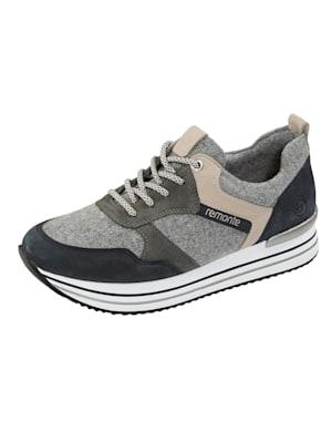 Sneakers à plateau à membrane remonte-Tex