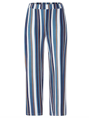 Pantalon à rayures flatteuses