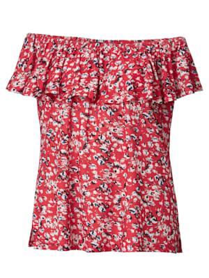 Shirt mit grafischem Minimaldessin
