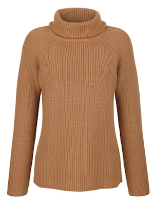 Pullover in Rippenstrick