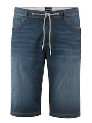 Jeansbermuda van zomers licht materiaal
