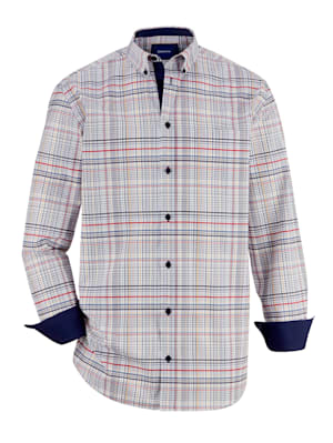 Hemd mit Button-Down-Kragen