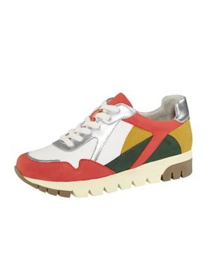 Sneakers aux coloris harmonieux