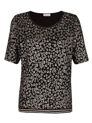Shirt allover im neu designtem Animalmuster