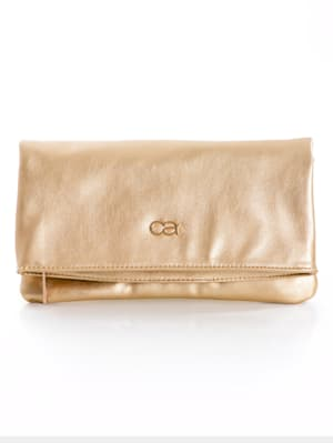 Clutch Crafted from high-quality faux leather