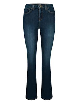 Jeans 'Bootcut' mit weiterem Bein