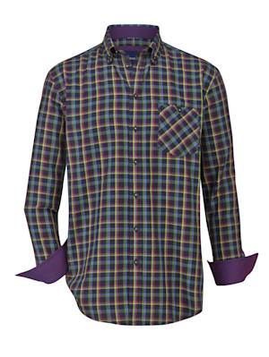 Hemd in angesagter Farbkombination