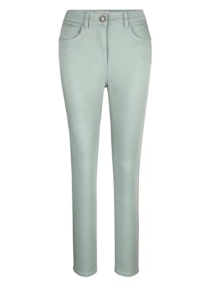 Trousers made from stretch cotton