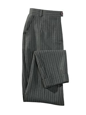 Pantalon en laine mélangée