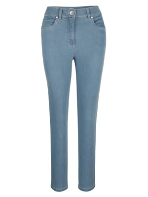 Jeans in a two-way stretch fabric