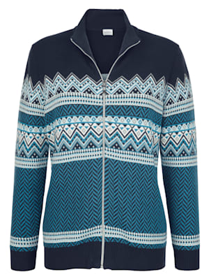 Cardigan made from pure cotton