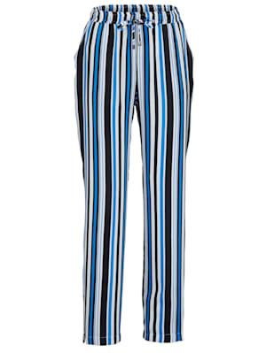 Pantalon en pure viscose