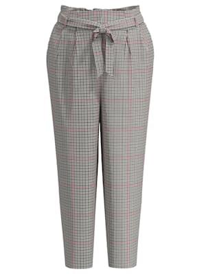 Bukse med rutemønster