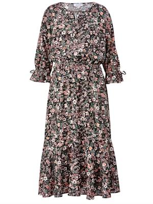 Web-Kleid mit Glitzergarn