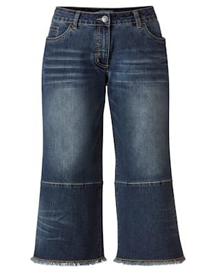 Jeans-Culotte bequem zu tragen