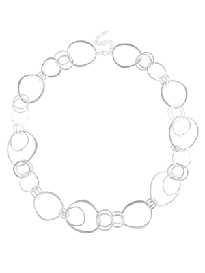 Halskette mit Elementen