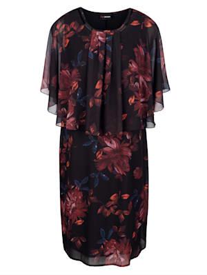 Robe au chic motif fleuri