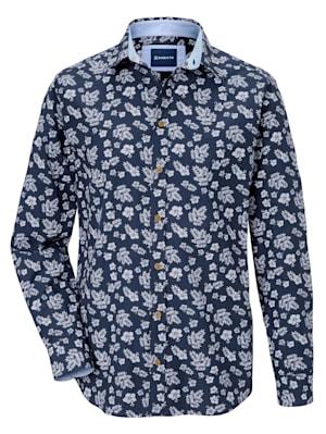 Overhemd met verfijnde details