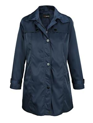 Trench-coat au look sport