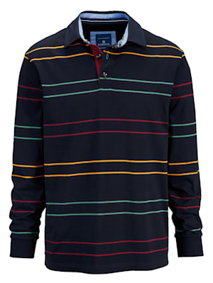 Sweatshirt mit bunten Streifen