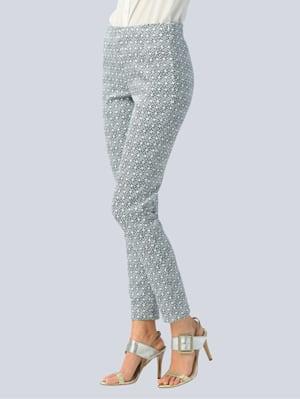 Hose mit modischem allover Print