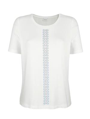 Shirt mit platzierten Strasssteinen