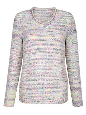 Pullover in Reiskorn-Struktur