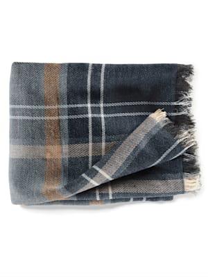 Sjaal met warme wol