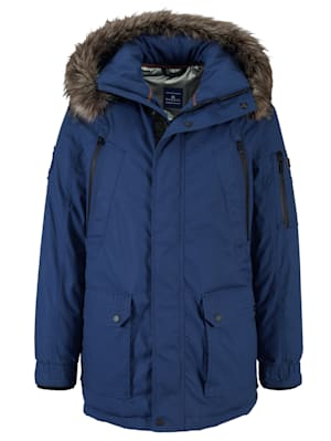 Parka met thermometer