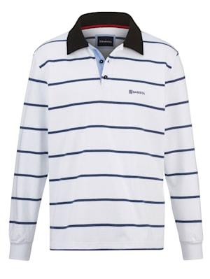 Sweat-shirt à col chemise