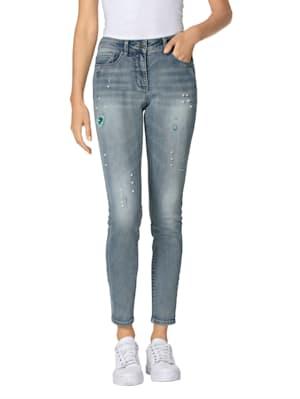 Jeans met mooie details