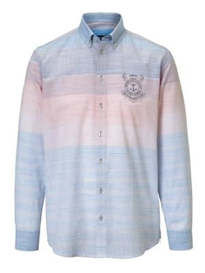 Hemd mit feinem Streifenmuster