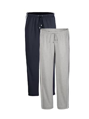 Lot de 2 pantalons de loisirs par lot de 2