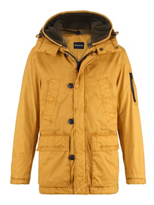 Parka in modieuze used look