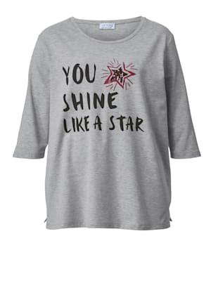 Shirt met opschrift