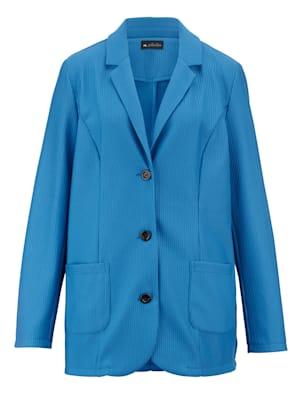 Blazer en jersey d'aspect structuré tendance