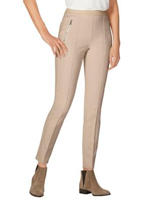 Pantalon à poches zippées