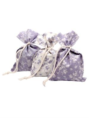 Lavendel-Duftsäckchen 3er Set