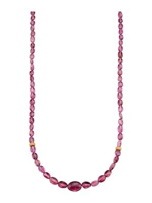 Halskette mit Turmalinen