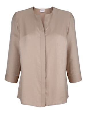 Blouse in a shimmering finish