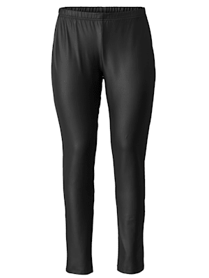 Lederimitat-Leggings