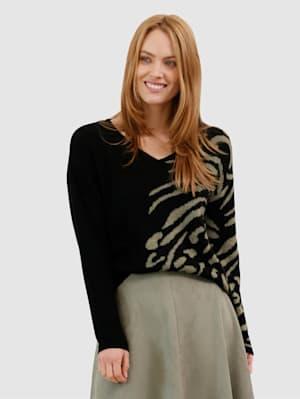 Pullover mit tollem Animal-Muster