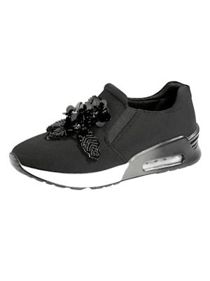 Sneakers en textile extensible