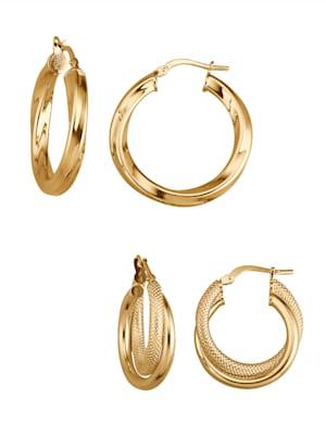 Earrings set of 2