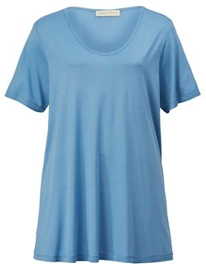 T-shirt en pure viscose