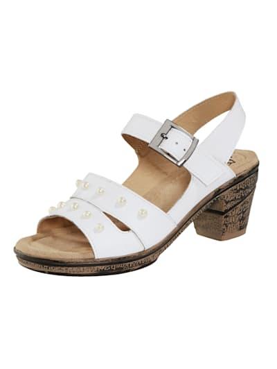 Weiße Sandalen komfortabel online kaufen | WENZ HX8kF